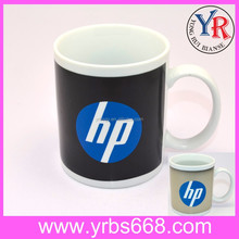 Business Gift 11oz Straight-body Sublimation Ceramic Color Changing Magic Photo Mug