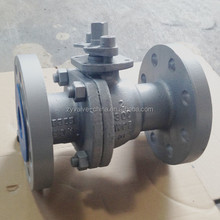 2 inch wcb 316 ball valve for pipeline of acid