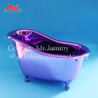 Festival arrival mini bathtub container gift for kids, child toys container bath tub shape