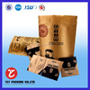 high quality waterproof bag for coffee from Shenzhen China supplier custom print zipper bag