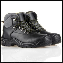 Alibaba com Trade Assurance 2015 Embossed Leather Wide Steel Toe Cap Men dc Safety Shoes