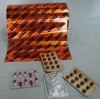 Coated pharma packing aluminium foil in tablets