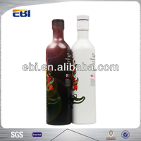 Fake sexual aluminum sample size wine bottle