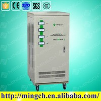 CE ROHS approved 50KVA automatic industrial three phase voltage stabilizer circuit design