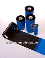 Black Barcode thermal printer ribbon and hot stamping foil