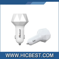 Smart IC Installed 3 Ports wholesale car charger for Smartphone and tablet with CE RoSH certificate approval