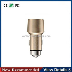 High Quality Micro Auto Universal 2 USB Car Charger For iPad for iPhone 5V 4800ma Mini 2 usb car charger
