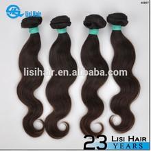 Stock Selling Natural Color Brazilian Virgin Hair Human Hair Wig Bang
