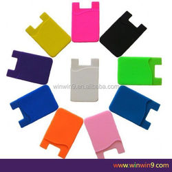 Silicone Phone Pouch, silicone smart wallet, silicone business card holder