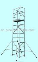 Aluminum tower scaffold