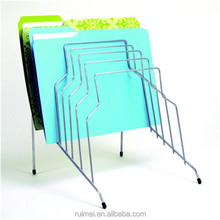 Chrome file rack