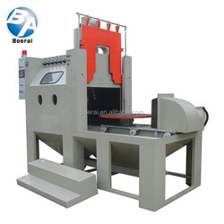 Car disc type tire molds used automatic sandblasting machine in high quality
