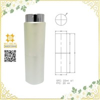 2015 new item 20ml refillable twist and spray perfume atomizer