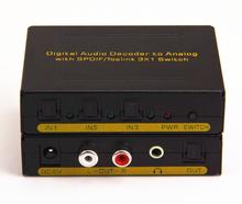 Great Audio Decoder Converting Digital to Analog+3.5mm Earphone Jack