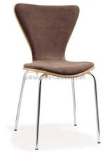 modern design dinning chair metal stacking chair