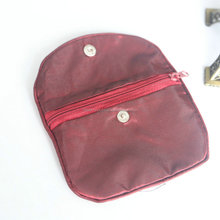 Luxury velvet pouch for jewellry and gift packaging ,zipper jewelry bag,jewelry pouch with zipper