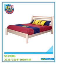 Latest Round Design Bed For Kids Simple Wooden Single Bed
