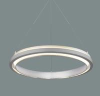 Modern Circle ring metal LED pendant light