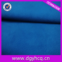 2016trendy eco-friendly recycled faux suede leather trade assurancce supplier