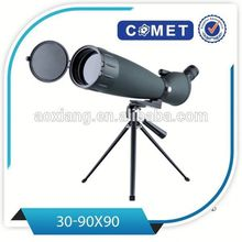 Best selling 30-90x90 optical spotting scope,angled spotting scope