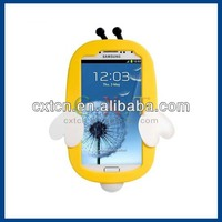 Silicone Honeybee Protective Case for Samsung Galaxy S4 Generation 2 (Yellow)