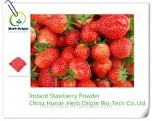 Polvo de fruta fruta extract instantánea / concentrado de frutas jugo en polvo / instantánea con sabor a frutas bebida en polvo