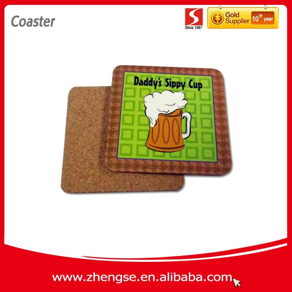Promocional Coaster corcho / de la cerveza estera