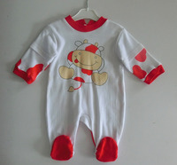 New 100% cotton comfortable newborn baby rompers custom baby onesie