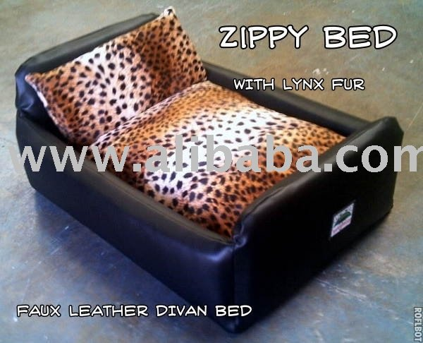 Zippy faux leather divan dog bed buy dog bed product on for Divan name meaning