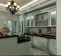 ash solid wood kitchen cabinet doors