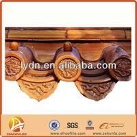 Ceramic glazed Chinese style roofing shingles