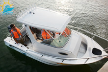 19ft Aluminum Plate Fishing Leisure Boat