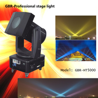 GBR professional color changing 5000w outdoor lighting