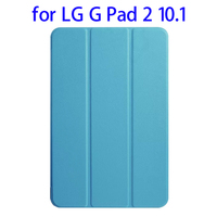 Fast Delivery Smart Leather for LG G Pad 2 Leather Case