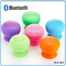 Top Sale Bluetooth Mini Speaker, Silicon Mushroom Portable Mini Speaker With USB Charger