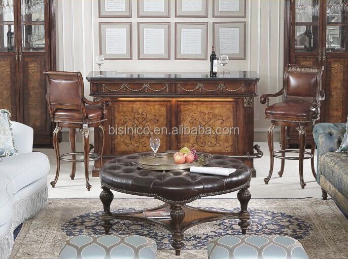 In stile americano replica bancone bar tavola scrivania con sedia ...