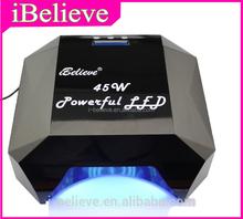 Professional 45W full led nail lamp for salon ccfl nail lamp 2012