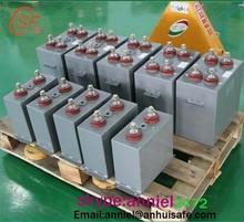 Shunt High-voltage Power Correction Capacitors with Liquid Medium