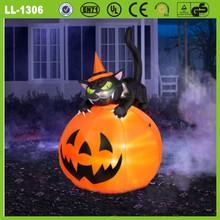 Fiesta de halloween decoración inflable jack- o- linternas