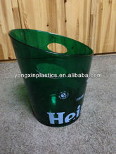 plastic ice bucket 5L Have a hand ice bucket
