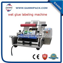 factory price small manufacturing hot melt glue labeling machine