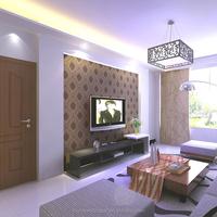 Hot sale modern style high foaming Non-woven wallpaper for wallpaper dealers