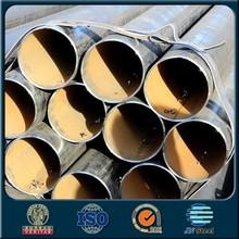 supplier in china schedule 80 black powder coated galvanized steel pipe
