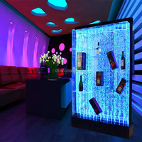 led event furniture mini bar furniture with led light color changing