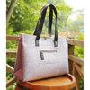 Fancy women bag wool felt young ladies metal zipper handbag ethnic bags