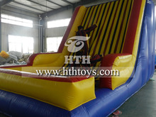 2015hot sale and funny inflatable velcro wall
