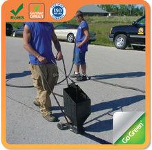 Concrete & asphalt crack repairs / crack filler / crack sealer driven over quickly