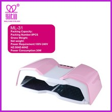 30W led lamp nail art gel curing uv lamp fast dryer