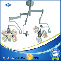 Double dome LED Shadowless surgical operation light for general surgery