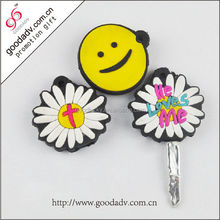 Guangzhou factory selling various patterns soft pvc key cover promotional gifts